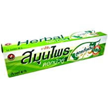 Thai Original Twin Lotus Natural Herbs Anti-bac Herbs* Herbal Toothpaste 40 G. Made in Thailand