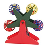 Trixie Ferris Wheel with Little Rattling Balls for Bird, 10 cm