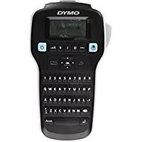 Dymo LabelManager 160 Portable Label Maker - Label Tape - 0.24 0.35 0.47 AZERTY Auto Power OFF Lightweight Underline Vertical Printing Print Preview Manual Cutter
