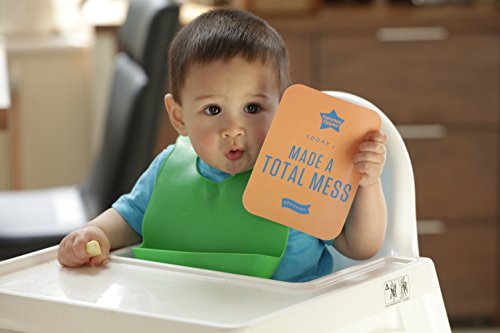 Tommee Tippee Easi Roll Drip Catcher Baby Bib, 7+ months - Blue and Green, 2 Count by Tommee Tippee (Image #5)