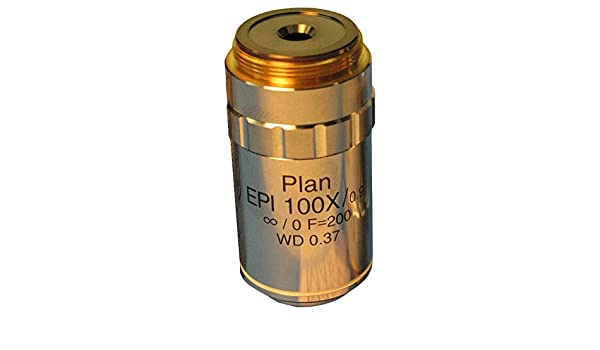 100X 0.37 mm W.D 0.90 N.A 24 mm F.N MEIJI TECHNO AMERICA MA874 Plan Epi Objective