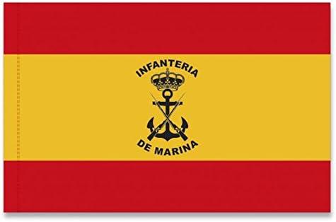 Bandera ESPAA INFANTERIA DE MARINA: Amazon.es: Ropa y accesorios
