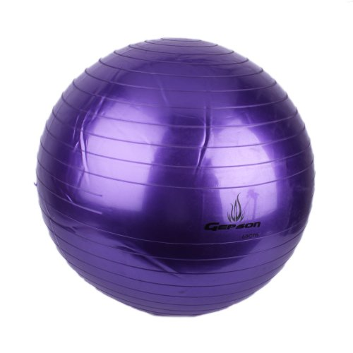 Pearl Plain Ball (PVC Thickening Explosion Proof Fitness Yoga Exercise Ball (purple, 65cm))