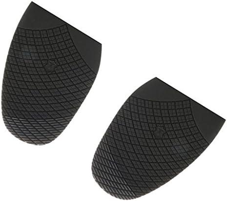 1ペアゴム滑り止めハーフソールタップヒールパッドDIY靴ケア修理用品