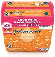 Johnson's lenços umedecidos Limpeza e Suavidade - 4X44 unidades, Johnson