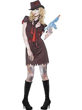 Disfraz Fever Zombie Mujer Ganster talla S: Amazon.es: Juguetes y ...