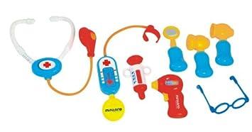 Miniland - Minidoctor, maletín con 8 accesorios (97255)
