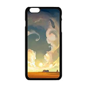 Personalized Creative Cell Phone Case For iPhone 6 ,fancy clouds and grand land