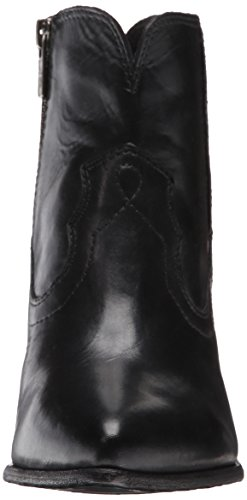Frye Kvinna Renee Söm Kort Boot Black-72.066