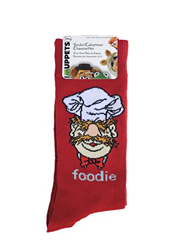 Disney The Muppets Swedish Chef Foodie Socks