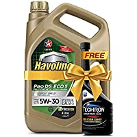 CALTEX Havoline Pro DS Fully Synthetic Eco 5 SAE 5W-30 Engine Oil, 4 Litre (with Techron)