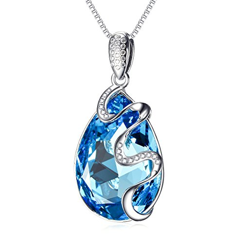 Butterfly Fashion Pendant Necklace Crystal