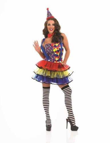 Sexy circus clown costume