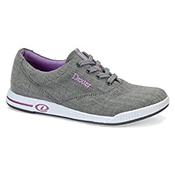 Dexter Womens Kerrie Bowling Shoes (7 1/2 M US, Grey Twill)