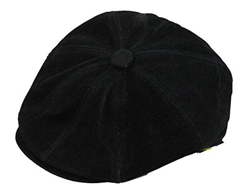 Sean John Men's Hat, Moleskin Newsboy Cap