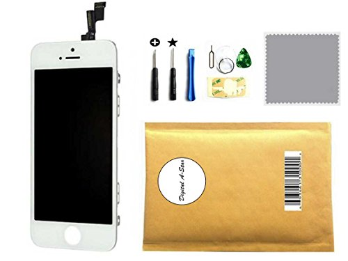 UPC 746856635170, Digital A-star iPhone 5S screen Replacement LCD touch Digitizer Assembly Display (white)