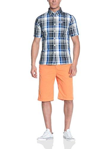 Superdry Camicia Manica Corta Chemises Neuf Taill.