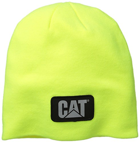 Caterpillar Men's Hi-Vis Knit Cap, Yellow, One Size