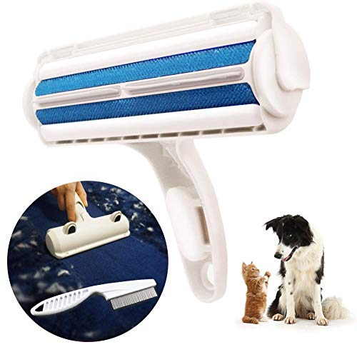 STARRYFIELD Pet Hair Remover, Lint Roller, Lint Remover & Pet Hair Roller in One. Remove Dog, Cat Hair from Furniture, Carpets, Bedding, Clothing & More