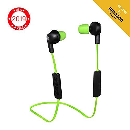 KLIM Pulse Bluetooth 4.1 In-Ear Kopfhörer [Version 2019] Kabellose Kopfhörer...