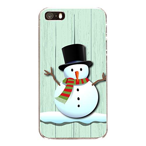 """Disagu Design Case Coque pour Apple iPhone 5s Housse etui coque pochette """"X-Mas Snowman"""""""