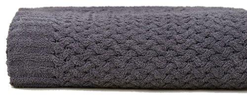 Kashwere Basketweave Blanket in Slate Size 70
