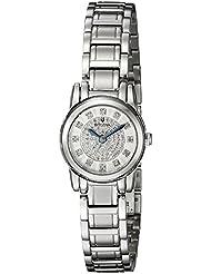 Bulova Womens 96P143 Highbridge Analog Display Quartz Silver Watch