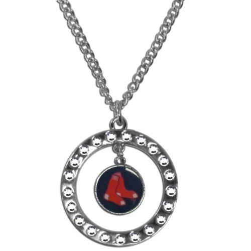 MLB Boston Red Sox Rhinestone Necklace