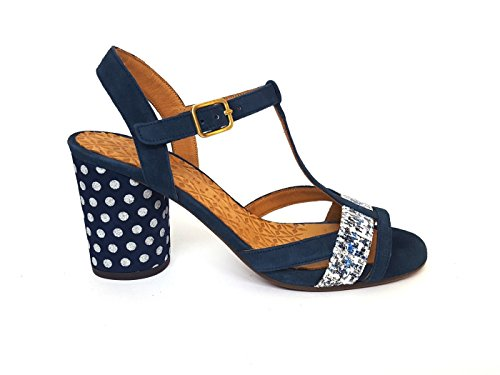 Femme Mihara Marine Pour Chie Bleu Sandales 0fOxqg