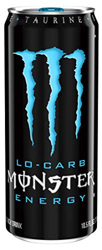 Monster Energy Lo-Carb, 10.5 Fluid Ounce (Pack of 12)