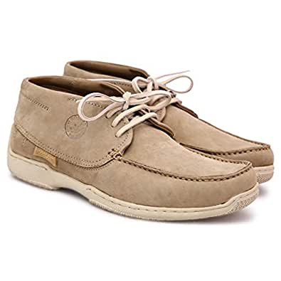 Woodland Brown Fashion Sneakers For Men