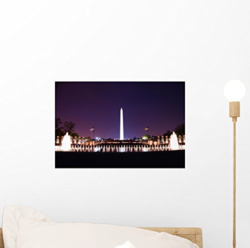 Washington Dc Wall Mural by Wallmonkeys Peel and Stick Graphic (12 in W x 8 in H) - Dc Malls In Washington Best