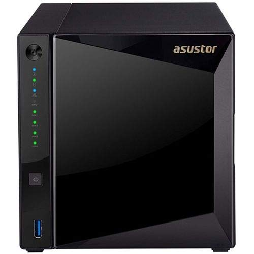 Asustor AS-4004T 4 Bay NAS, Marvell Armada A7020 Duad-Core, 2 GB DDR4, Gbe x2, 10G Base-T x1, WOL
