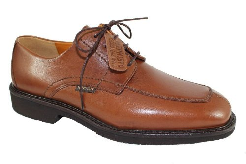 Mephisto-Chaussure Lacet-GAHAM Marron clair cuir 8878-Homme