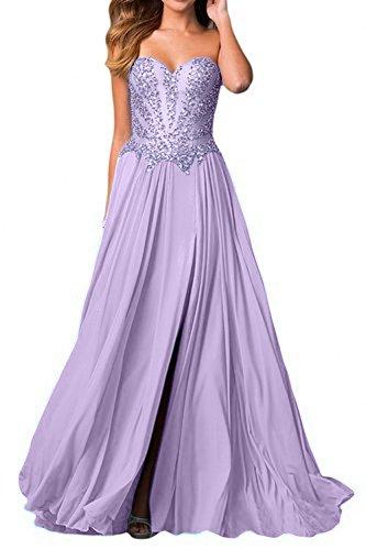 Beige Ballkleider Partykleider Pailletten Charmant Lilac Perlen Damen Abschlussballkleider Herzausschnitt Abendkleider Blau 0qwEBO