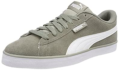 Puma Urban Plus SD, Zapatillas Unisex Adulto, Beige (Rock Ridge-Puma White 02), 48.5 EU