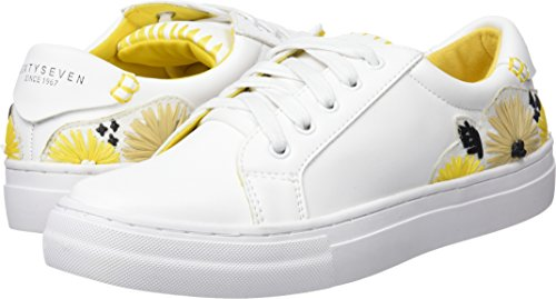 Seven Sixty De Blanco Fitness actled Femme Blanc Pompei F C40366 Yellow Neoprene Chaussures dr1wrq