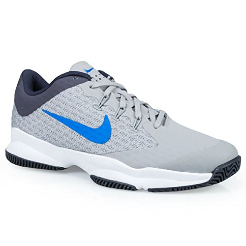 NIKE Men's Air Zoom Ultra Tennis Shoe (10.5 D(M) US, Atmosphere Grey/White/Gridiron/Photo Blue) by NIKE