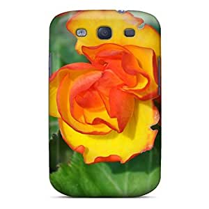 Defender Case With Nice Appearance (just A Flower) For Galaxy S3