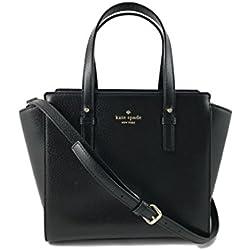 Kate Spade New York Grand Street Colorblock Small Hayden Leather Handbag in Black