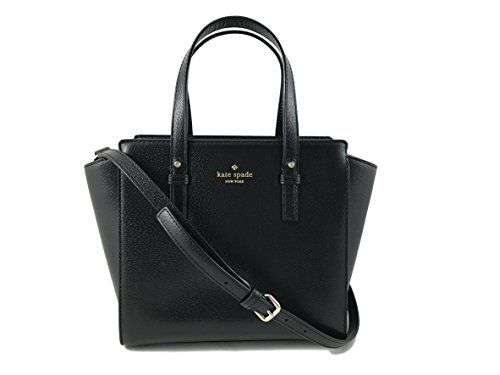 Kate Spade New York Grand Street Colorblock Small Hayden Leather Handbag in Black by Kate Spade New York
