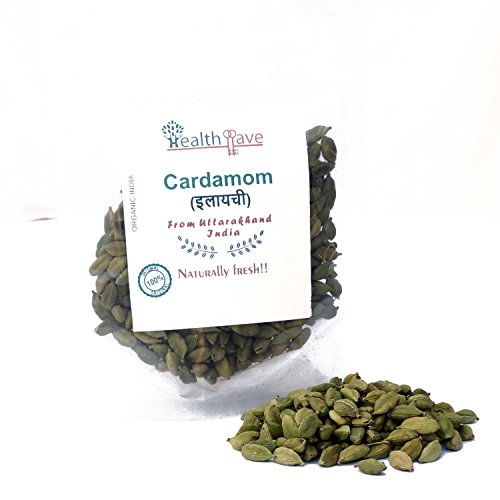 Healthllave Organics Cardamom Green   Ilaayachee, ilayachee   Natural Indian Farm Products from Uttarakhand India   ONE Pack by Healthllave