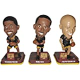 Cleveland Cavaliers 2016 NBA Champions Mini Set of 3 Bobbleheads - JR Smith, Tristan Thompson, and Richard Jefferson - Only 150 Sets Made!
