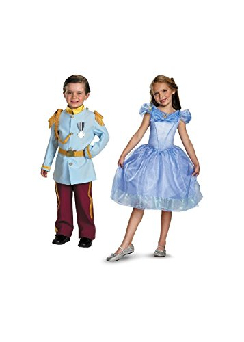 Little Child Cinderella Two Sizes And Prince Charming Kit (Toddler (3T-4T))