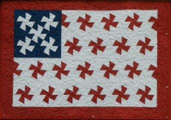 Twisted Flag Quilt Pattern By Rose Pohlar