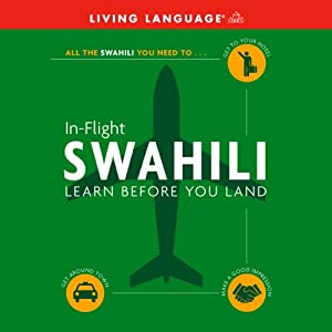 In-Flight Swahili Audiobook