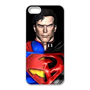 Superman iPhone 4 4s Cell Phone Case White