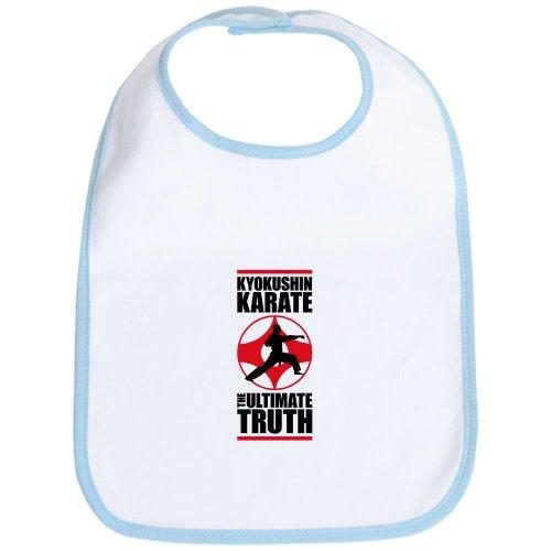 CafePress - Kyokushin karate 3 Bib - Cute Cloth Baby Bib, Toddler Bib