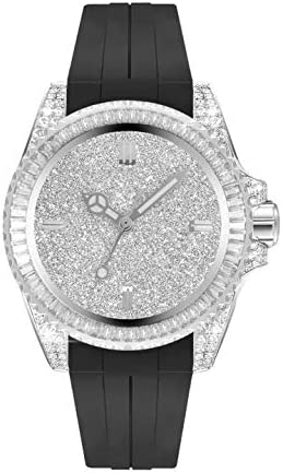 Men's watch Iced Out Bling Diamonds Automatic stainless steel watches