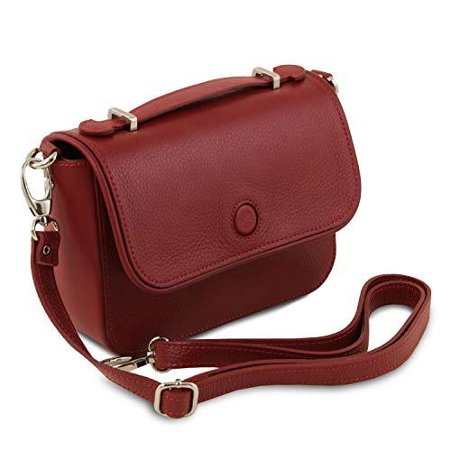 blu Leather Pochette In Scuro Primula Tl141725 Pelle Rosso Tuscany w7YqdHZxY